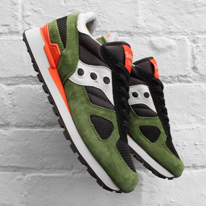 0bdbdda9a824f Saucony Shadow Original Black Green Orange | Futuristic Shoes and ...