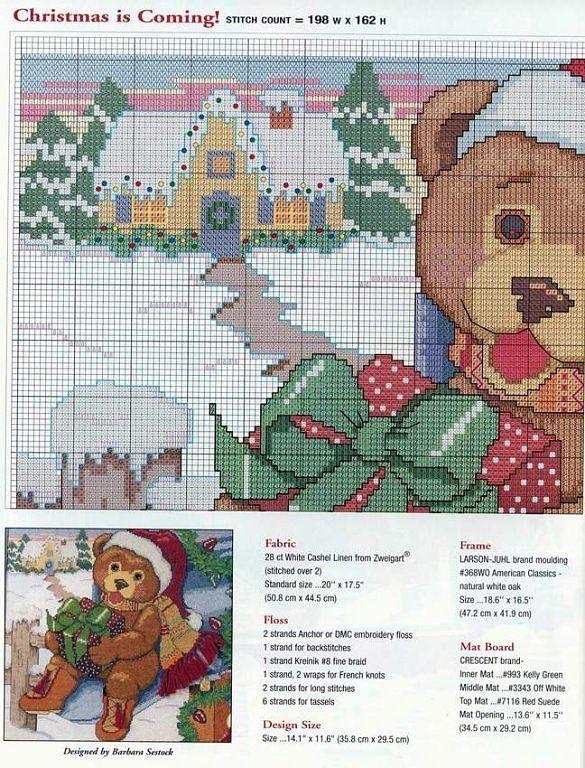 Ampliar Cross Stitch Christmas Stockings Cross Stitching Christmas Cross Stitch