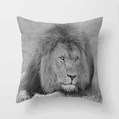 """Lion King"" Throw Pillow by Peaky40 - $20.00"