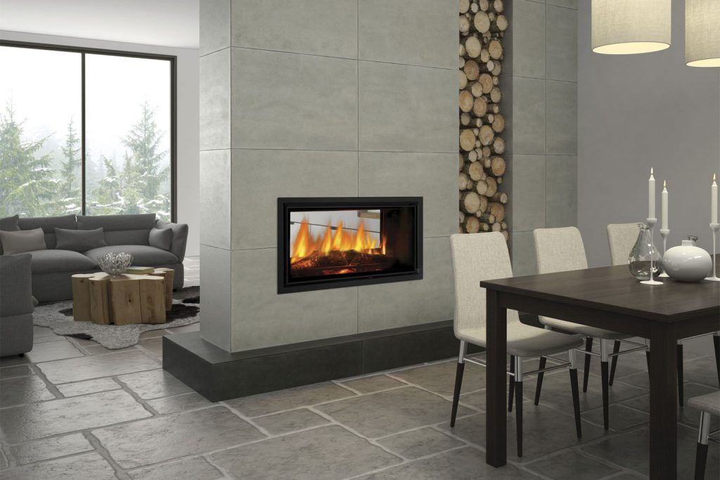 Double Sided Fireplaces Two Sides Endless Benefits In