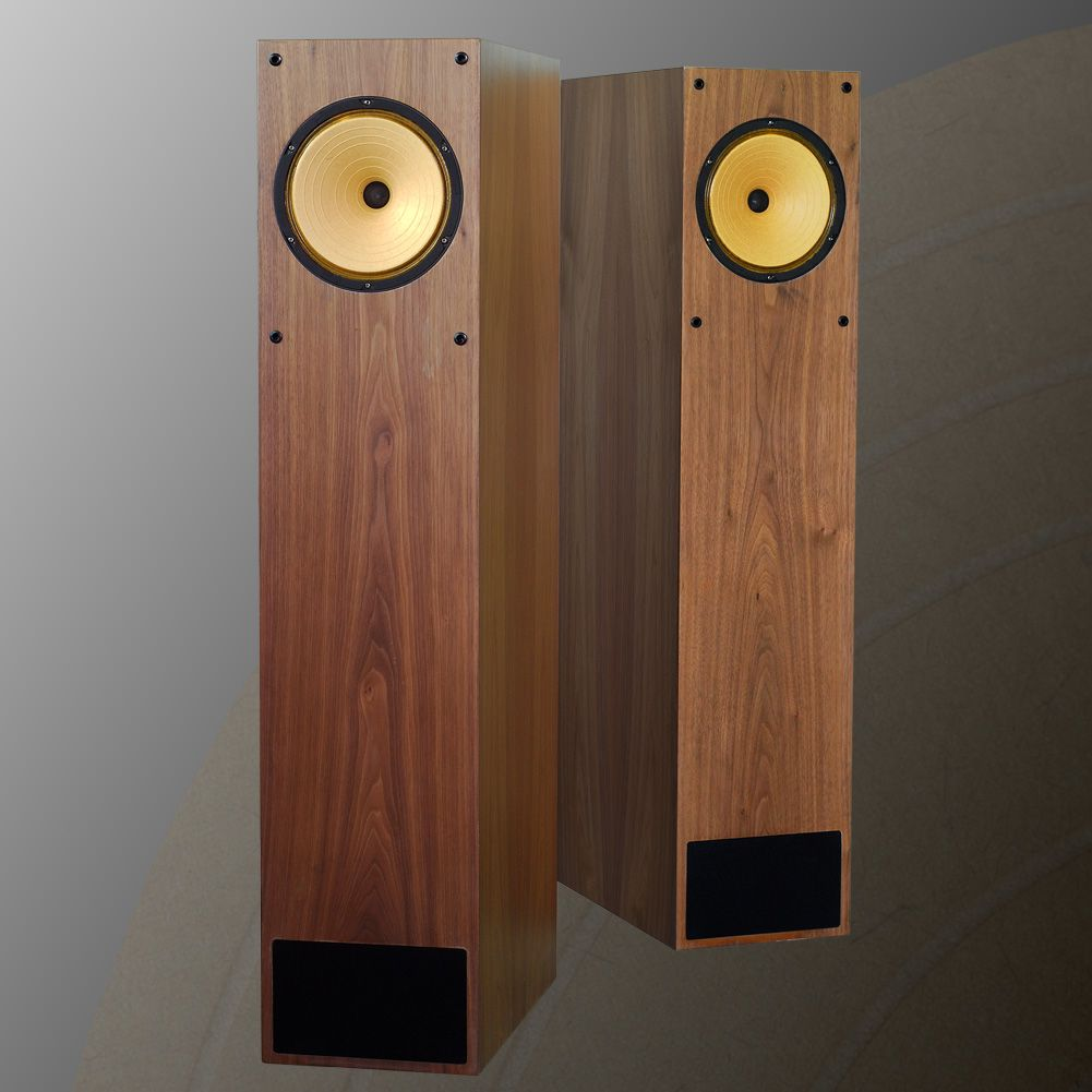 sound tsao fa8 alnico magnet full range speakers walnut tqwt speakers turntables. Black Bedroom Furniture Sets. Home Design Ideas