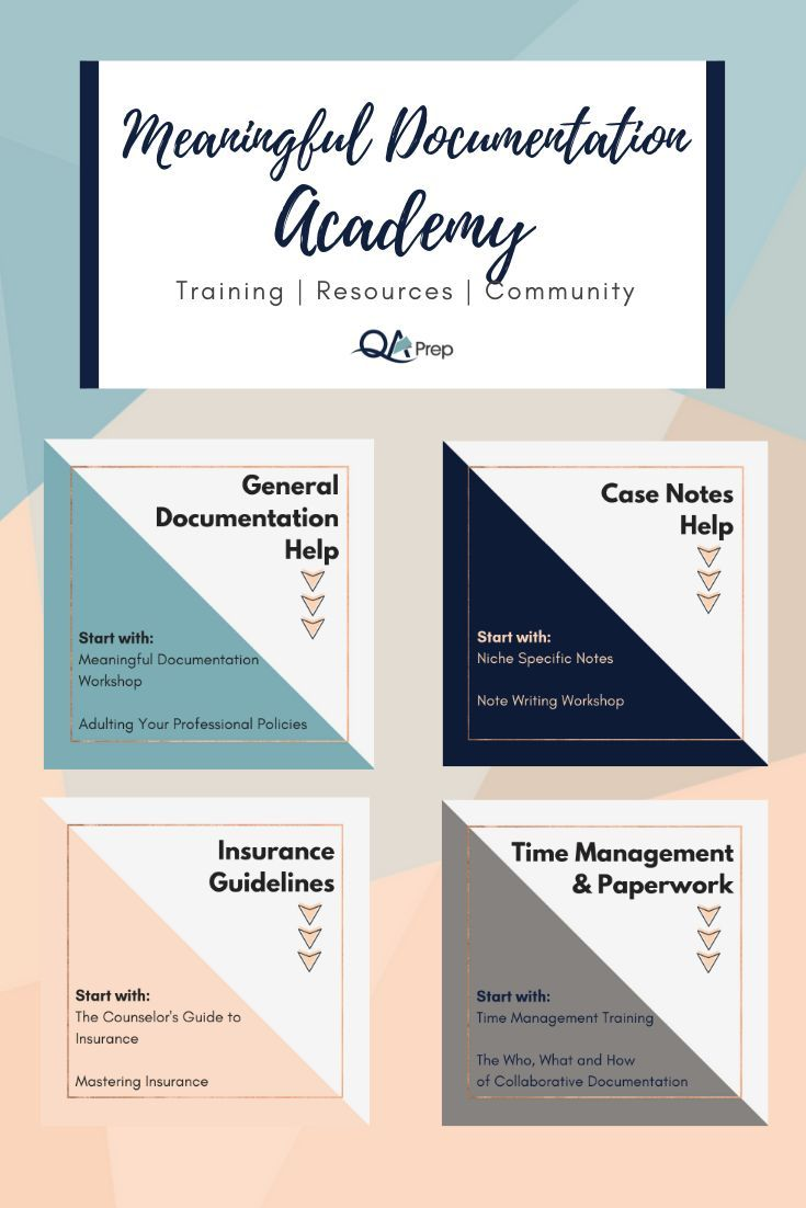 QA Prep offers the Meaningful Documentation Academy - in ...