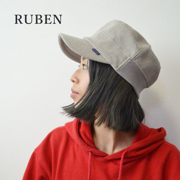951adf207a9c 【楽天市場】ルーベン ruben ワークキャップ リブワークキャップ メンズ キャップ 帽子 ブランド レディース
