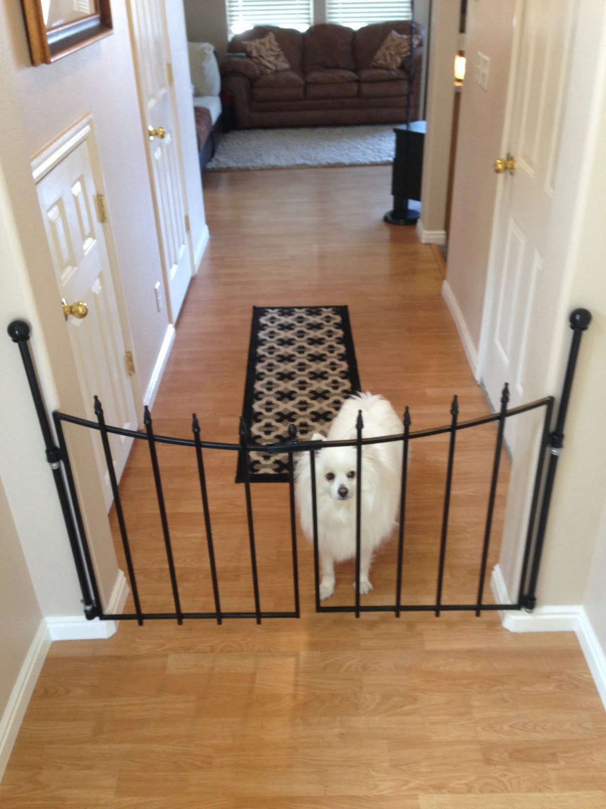 Diy Pet Gate For The Home Pet Gate Diy Dog Gate Pet