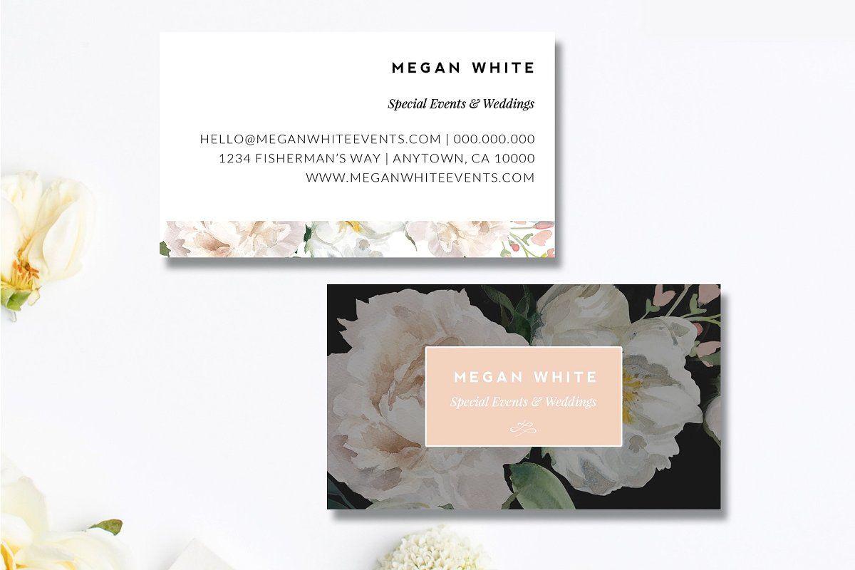 11 Piece Florist Marketing Set Wedding Planner Business Card Wedding Planner Business Event Planner Business Card