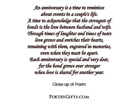 45th wedding anniversary poem google search