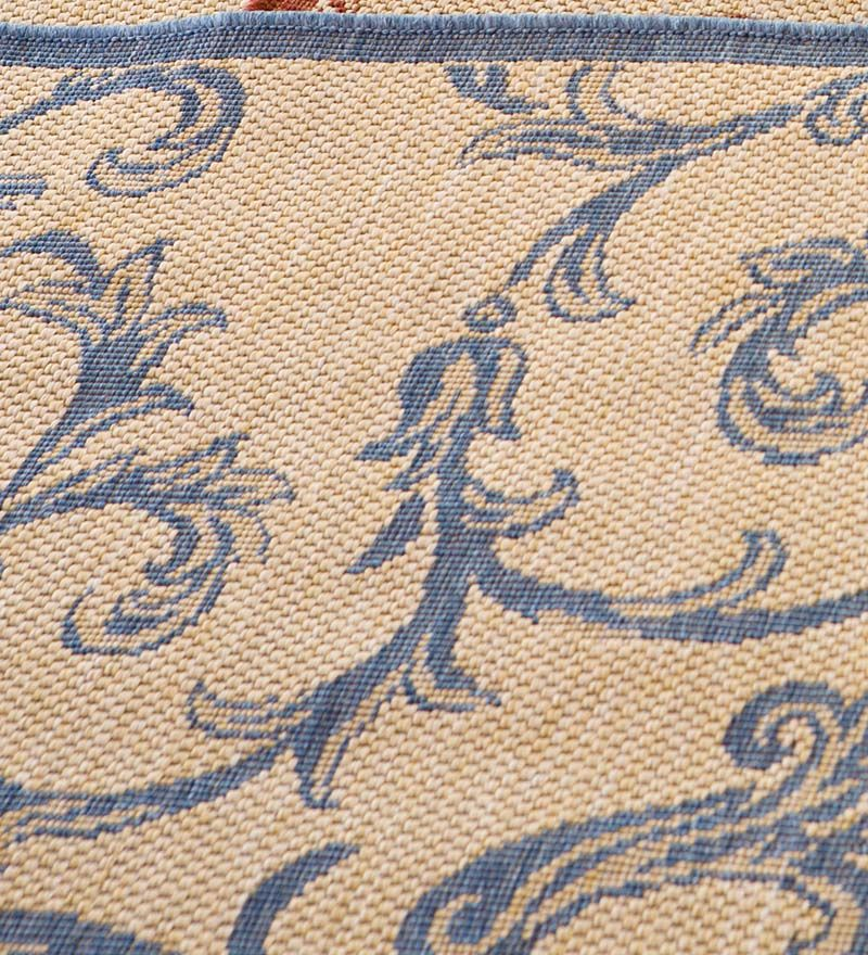 Scroll Polypropylene Rug Outdoor Rugs Plow The Gables Family
