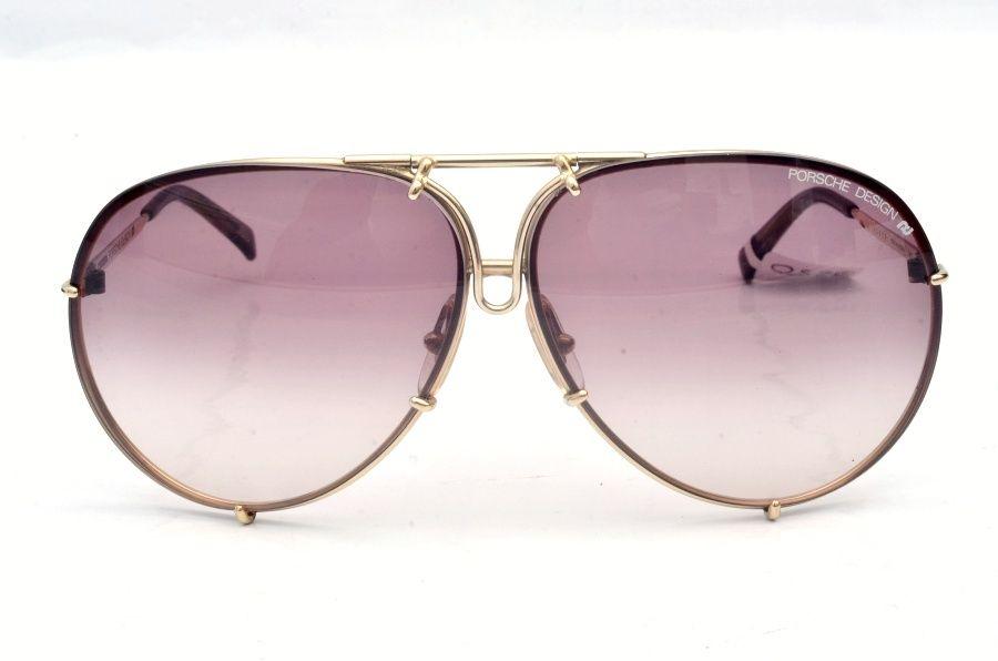 Vintage Carrera Porsche Design 5623 Gold Sunglasses with Extra Lens