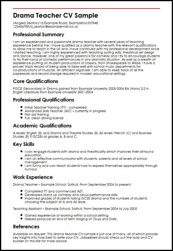 Sample Theater Resume Captivating Setting Out Your Resume  Vision Professional  Games  Gameplay .