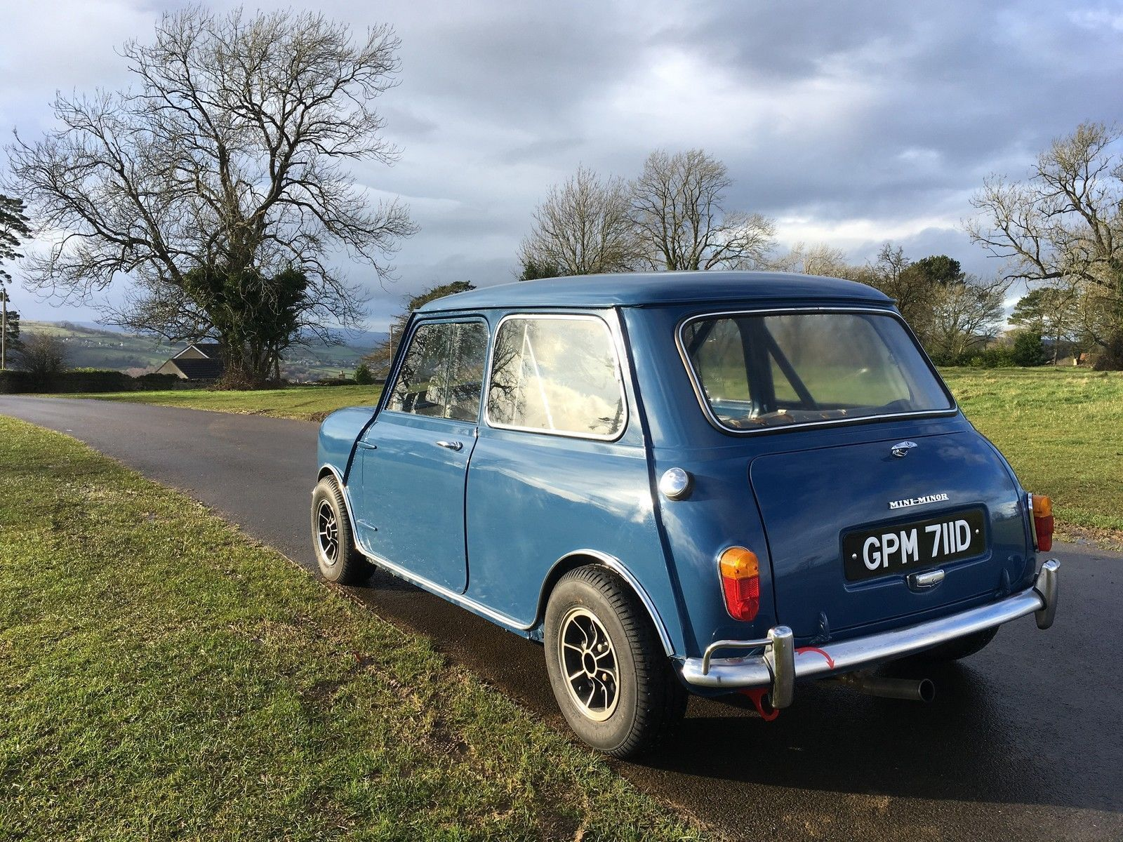 eBay: 1966 MK1 MORRIS MINI MINOR SUPER DELUXE CAFE RACER COOPER ...