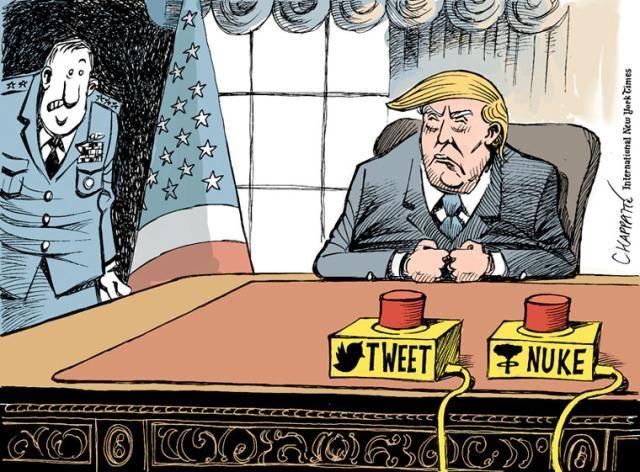 Best Donald Trump Cartoons of 2016: President Trump in Command