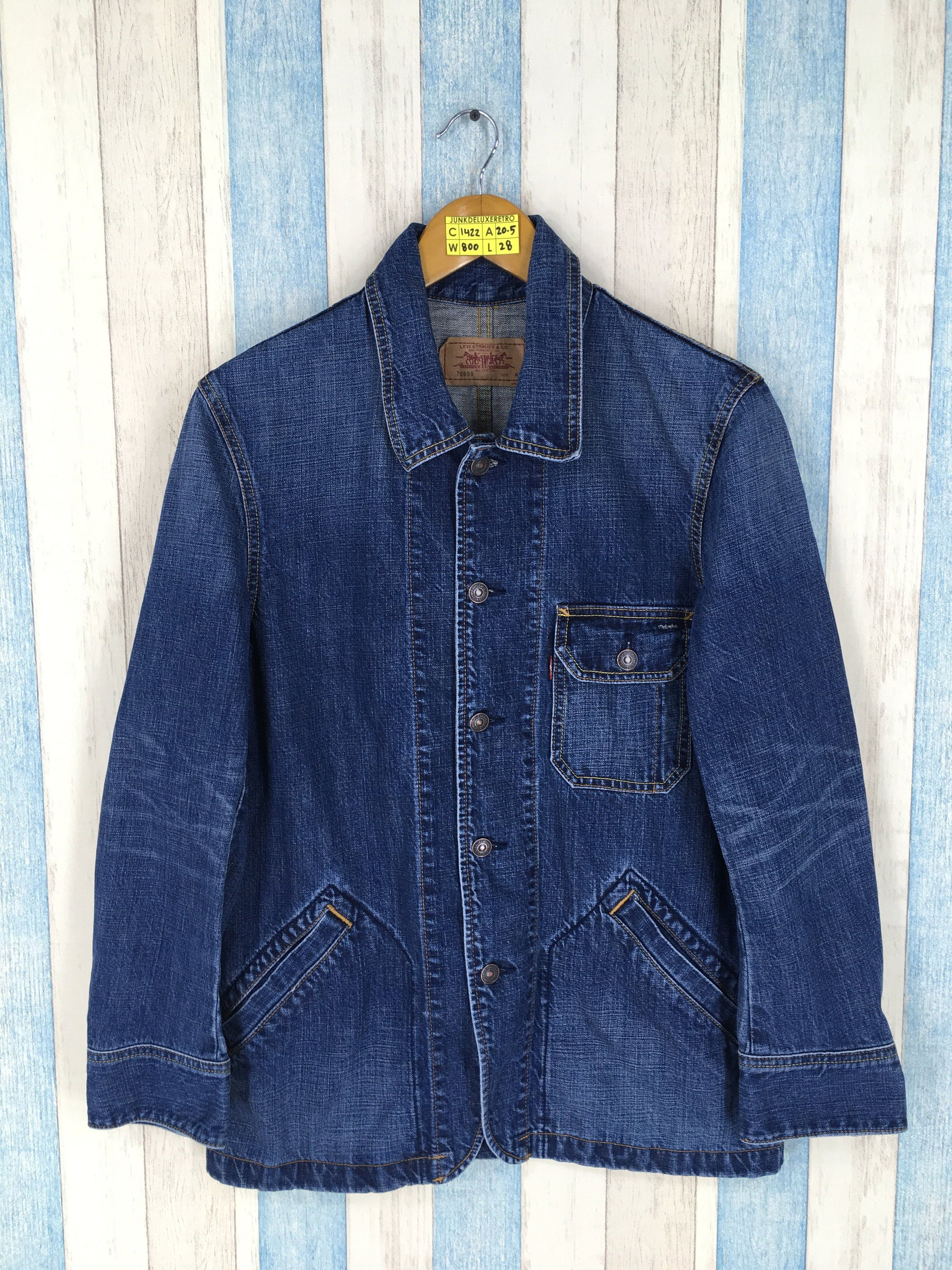 Vintage 90 S Levis Strauss Denim Jacket Mens Medium Vintage Levis