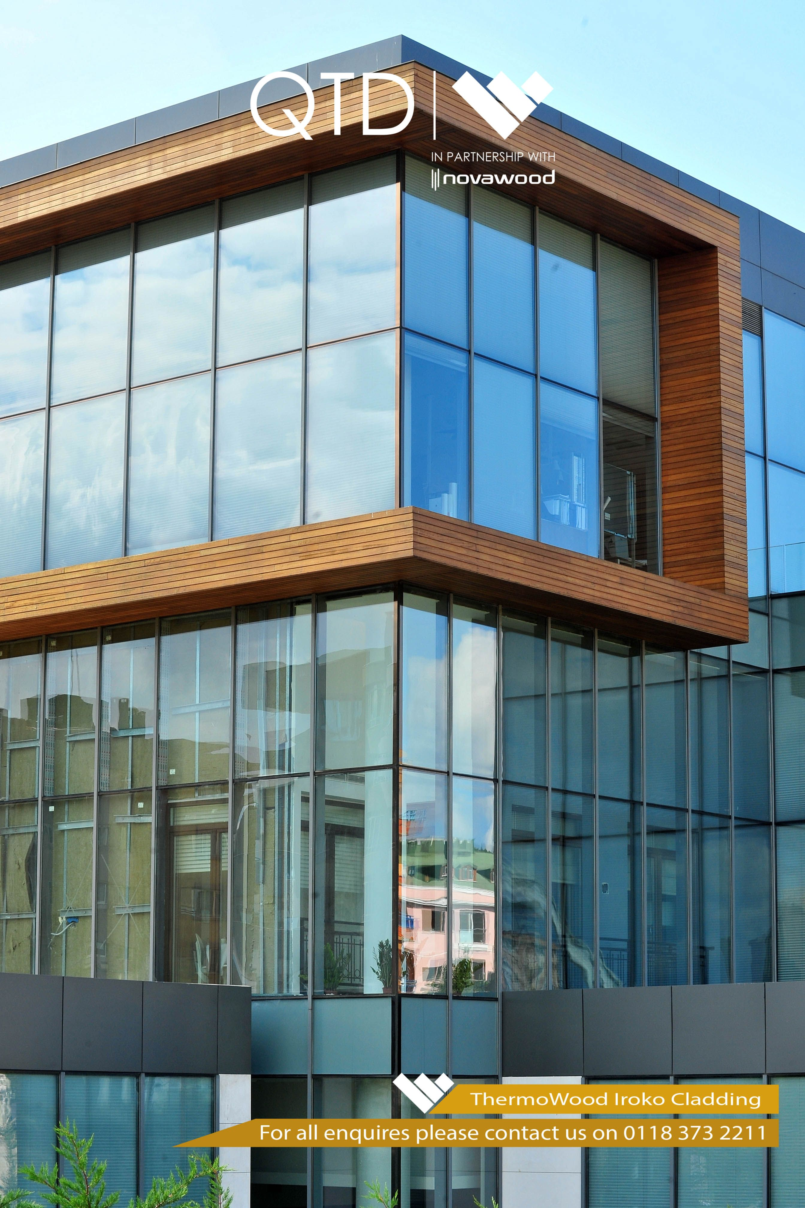 Pin by QTD Ltd on ThermoWood Cladding | Cladding materials, Cladding