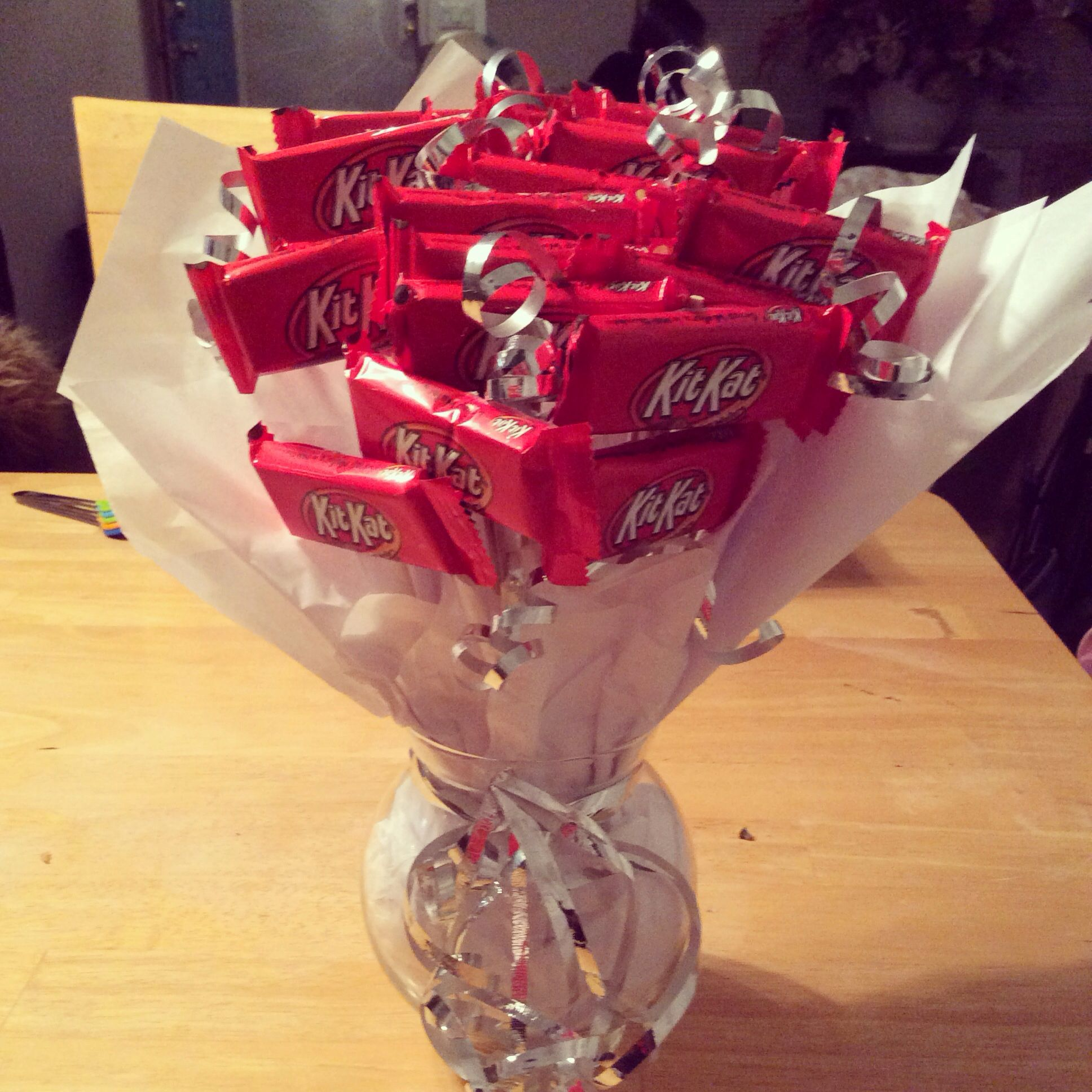Kitkat Bouquet Perfect Birthday Gift Chocolate Bouquet
