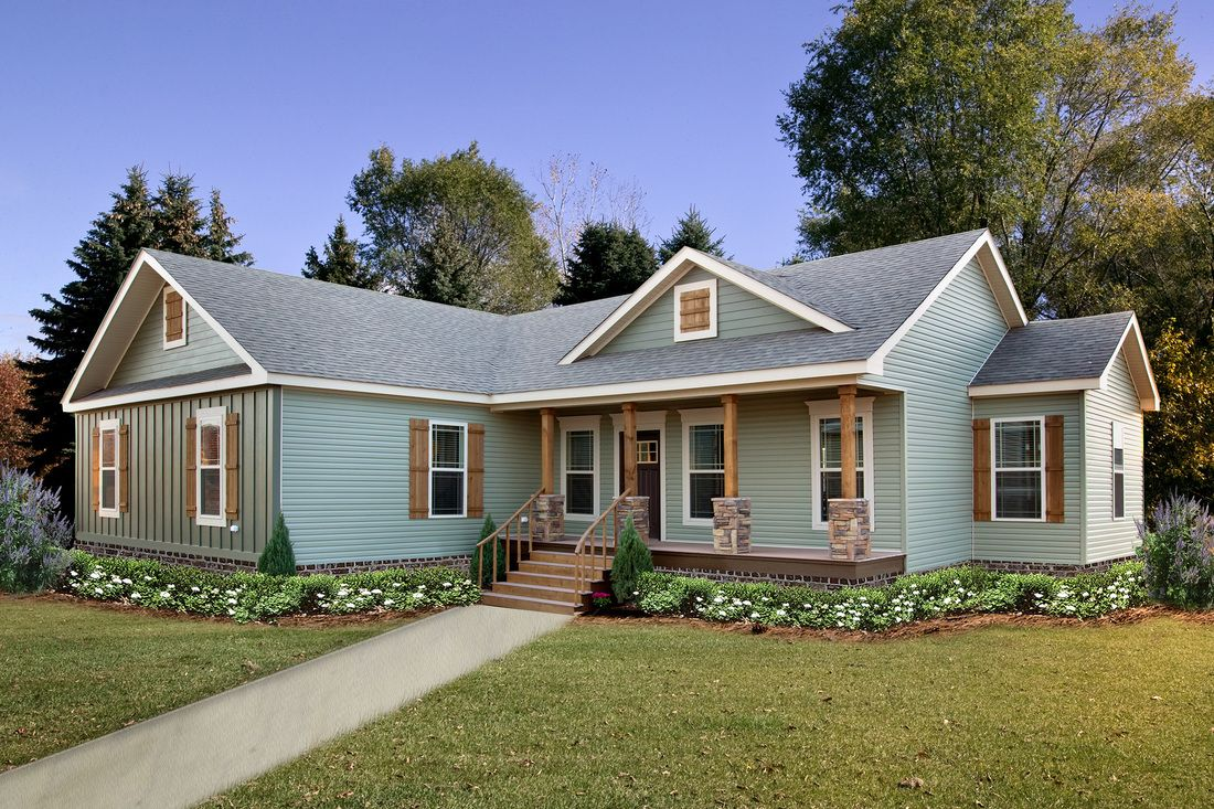 The Briarritz Dvt 7204b Is A Manufactured Modular Mh Advantage Prefab Home In The Deer Valley Series Seri In 2021 Modular Home Plans Modular Home Prices Prefab Homes