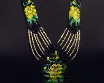 Envío gratis Ucraniana joyería hecha a mano con por PysankaFolkArt