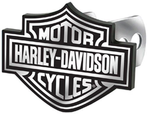 harley davidson auto hitch plug black white bar shield 2287 by rh pinterest com