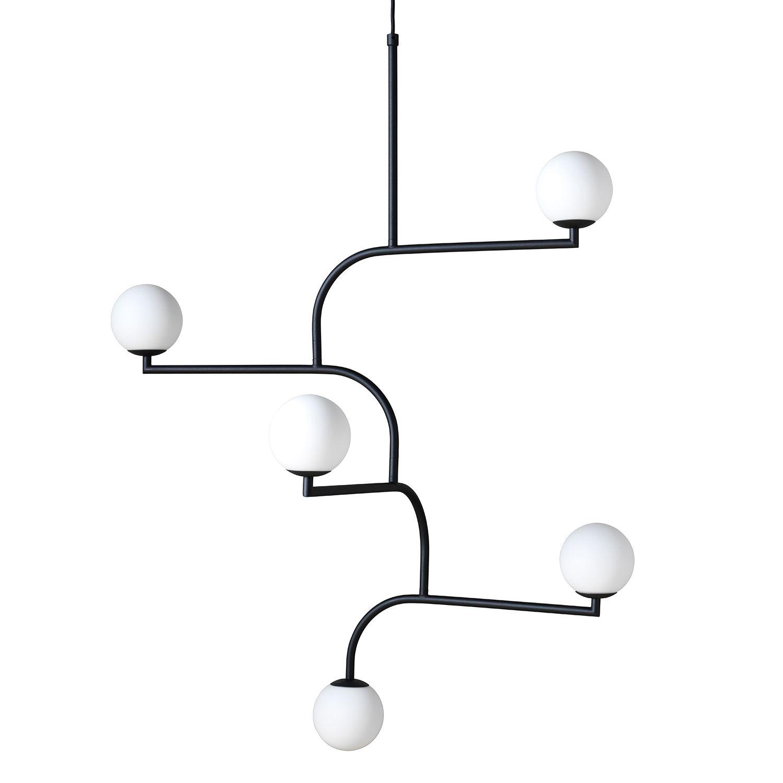 Mobil taklampe fra Pholc, designet av Monika Mulder. Denne praktfulle lampen har en vakker design me...