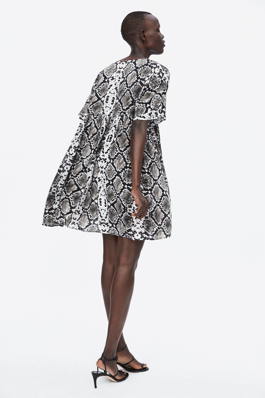 Image 3 Of Snake Print Dress From Zara Dresses Snake Print Dress Snake Dress