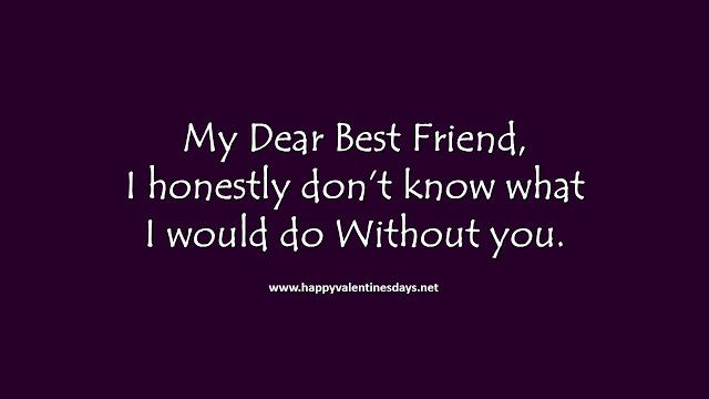 Friendship Day Images For Friends With Message Heart Touching
