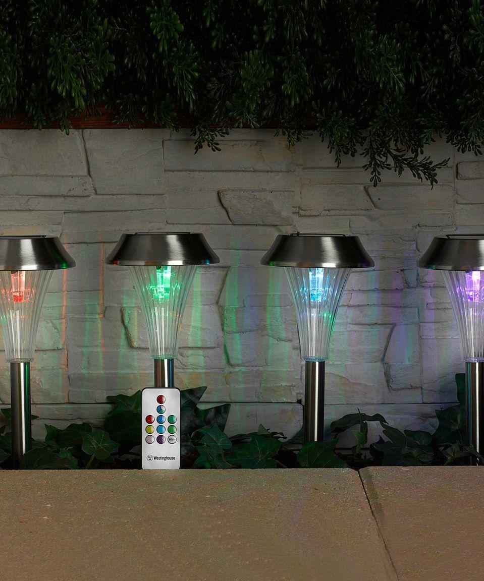 This Ashton Solar Path Light Set Of Four By Idc Is Perfect Zulilyfinds Solar Path Lights Path Lights Light