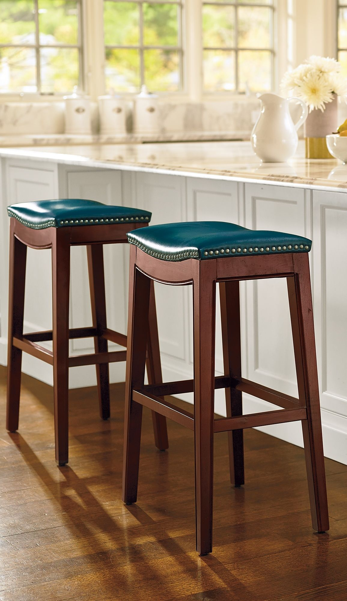 Julien Bar Amp Counter Stool Leather Bar Stools Bar