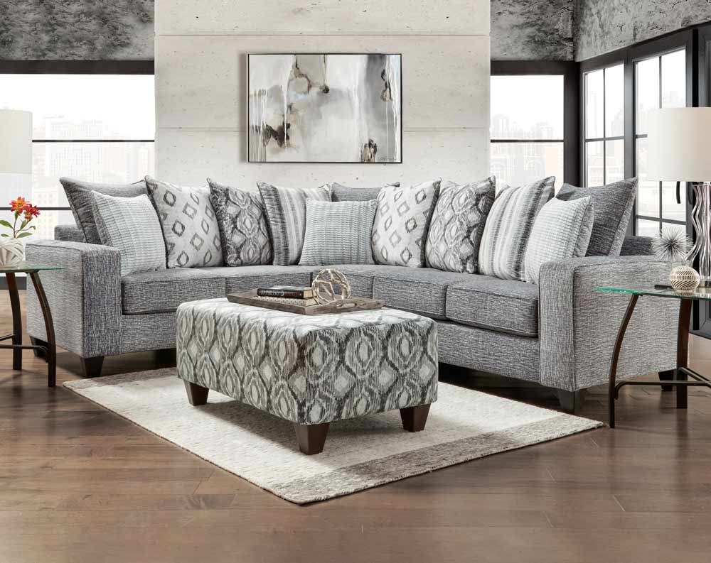 Discount Sectional Sofas Couches American Freight Sears Outlet In 2020 Charcoal Sectional Furniture Affordable Furniture #sears #living #room #furniture
