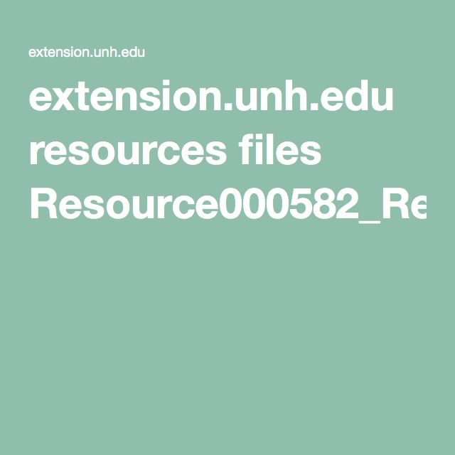 Extension.unh.edu Resources Files Resource000582_Rep604