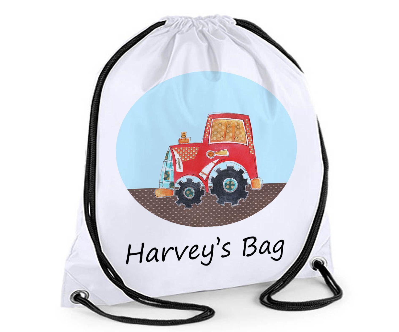 backpack PE Swim Custom Print Bag Sack Personalised Drawstring Bag School