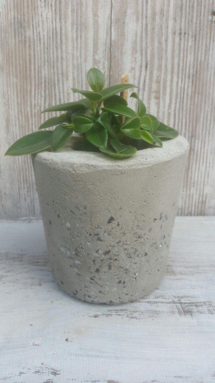 Beton übertopf beton übertopf diy beton