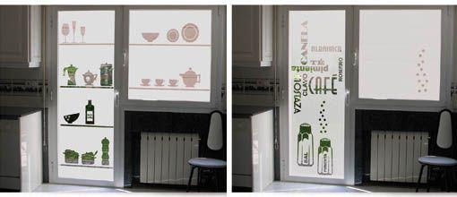 Vinilos para puertas de cocina mi casa pinterest las for Vinilo leroy merlin cristal