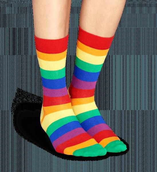 pride sock socks sokken, strepen y kleurensteun nu lgbt pride met deze kleurrijke regenboog sokken deze geweldige sokken hebben een design