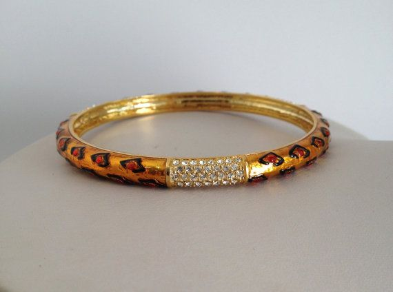 Vintage Leopard and Pave Estate Jewelry by WOWTHATSBEAUTIFUL