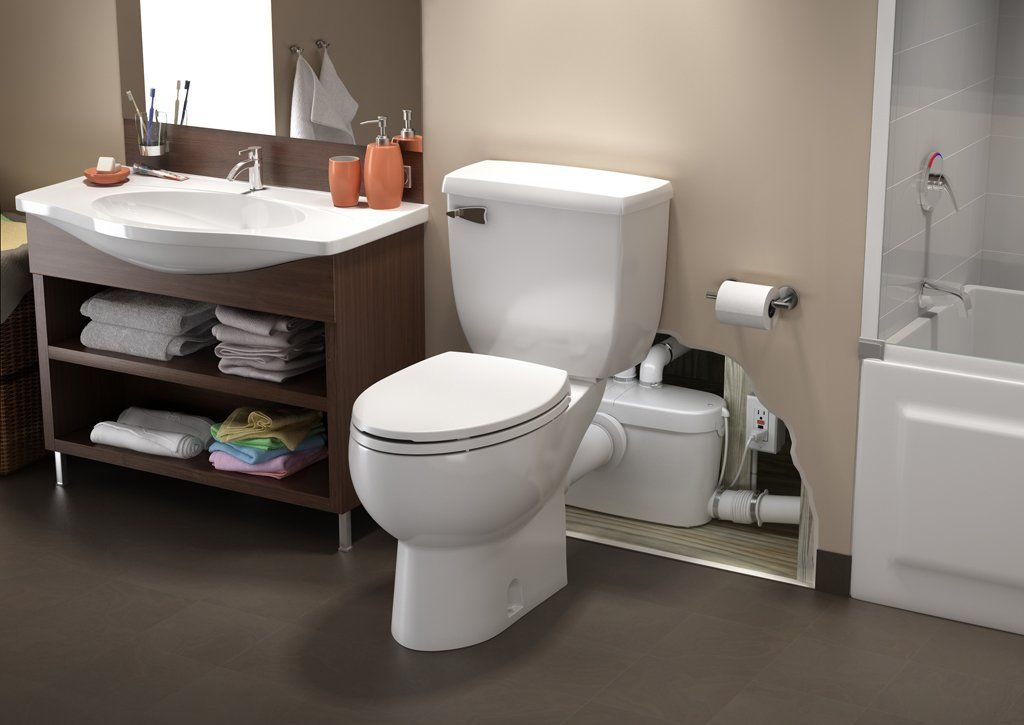 Saniaccess 3 By Saniflo Upflush Toilet Add A Bathroom Complete