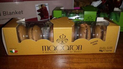 Gusto cappuccino flavoured macaroons. Gf! Found in TK Maxx! Didn\'t ...