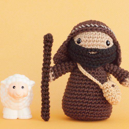 Amigurumis Navidad Crochet : Patr�n pastor amigurumi navidad pinterest patrones