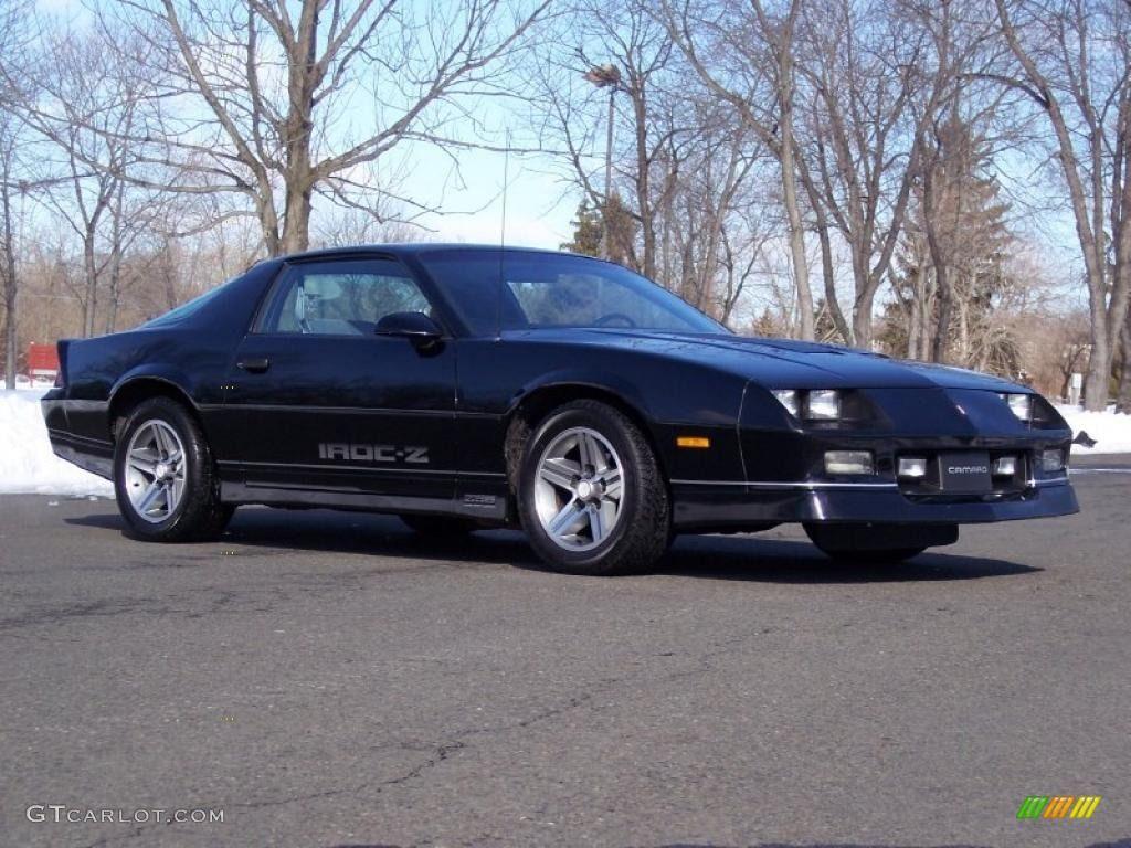1985 Camaro Red Iroc Black 1985 Chevrolet Camaro Iroc Z Exterior