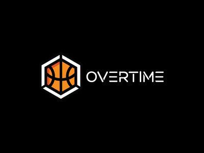 Overtime Logo Basketball Logo Design Logos Sports Logo Design