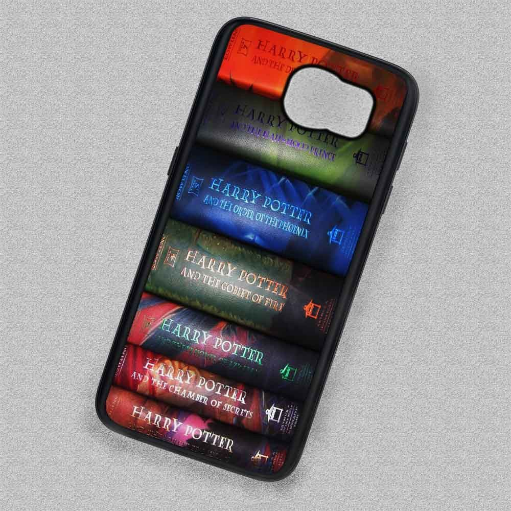 Book Collage Harry Potter - Samsung Galaxy S7 S6 S4 Note 7 Cases & Covers