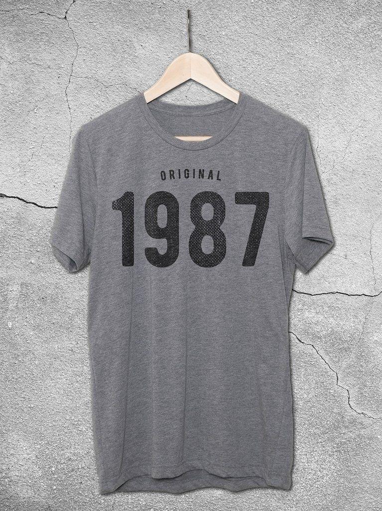 30th Birthday Ideas For Men 1987 Tee 30th birthday