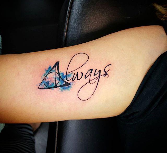 Always Always Tattoo Always Harry Potter Tattoo Tattoos