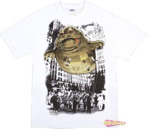 Parade Balloon Jabba The Hutt Shirt