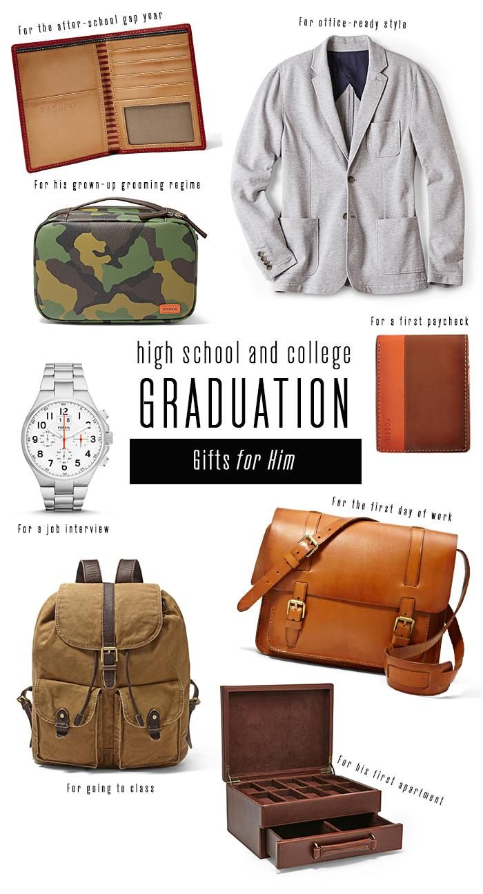 #Fossil Grad Gifts for him