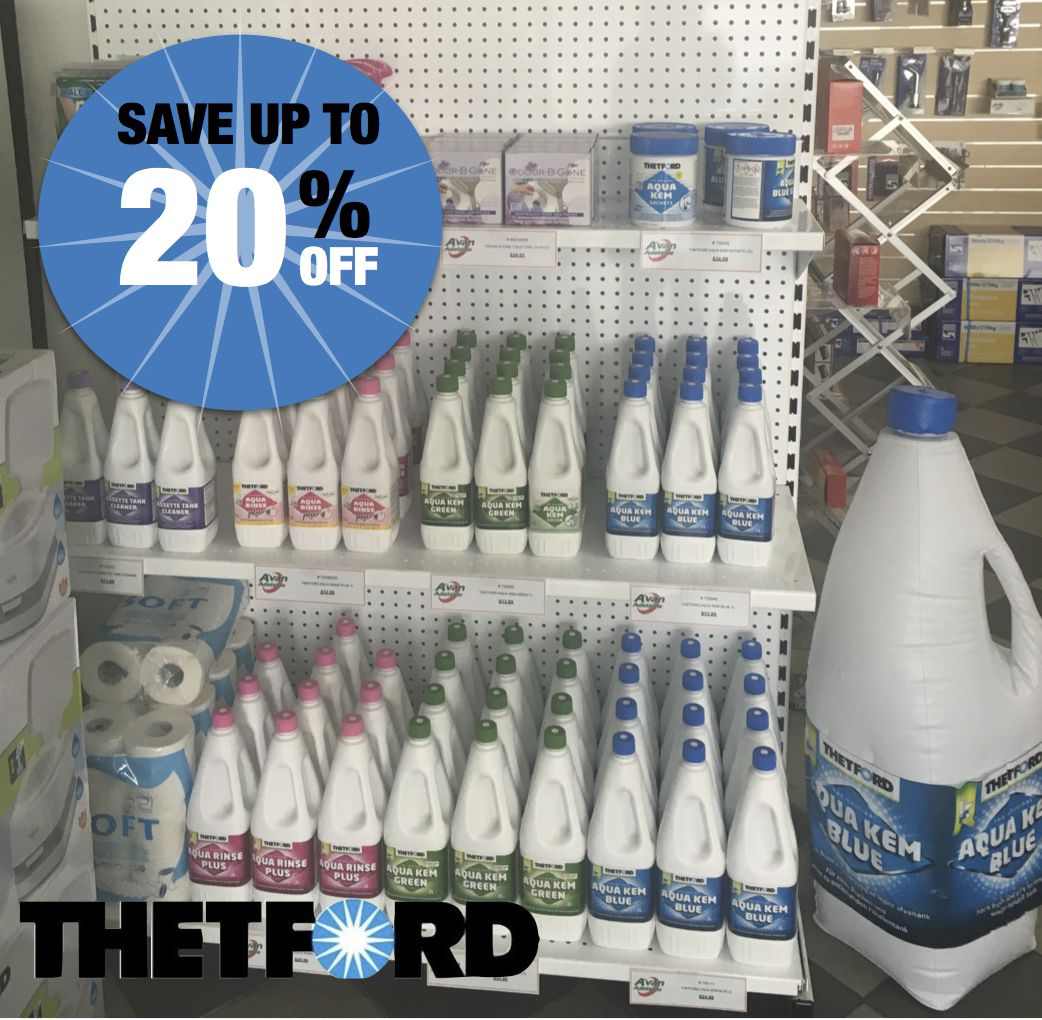 Thetford Caravan Toilet Chemicals On Sale | Avan Adelaide | SAVE UP TO 20% |