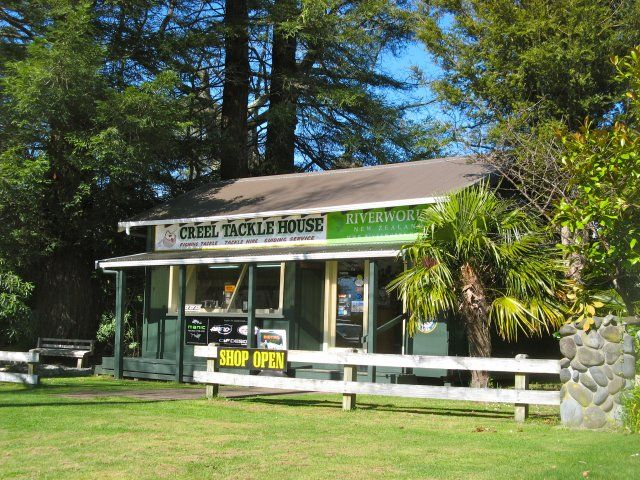 Creel Tackle House And Cafe Turangi Fly Fishing Tackle Fishing Tackle Shop Fly Fishing
