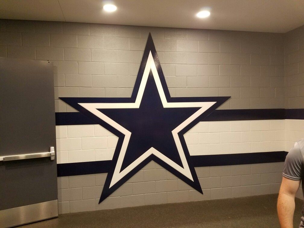 Locker Room Entrance Dallas Cowboys Dallas Cowboys Theme Room Dallas Cowboys Decor Dallas Cowboys Room