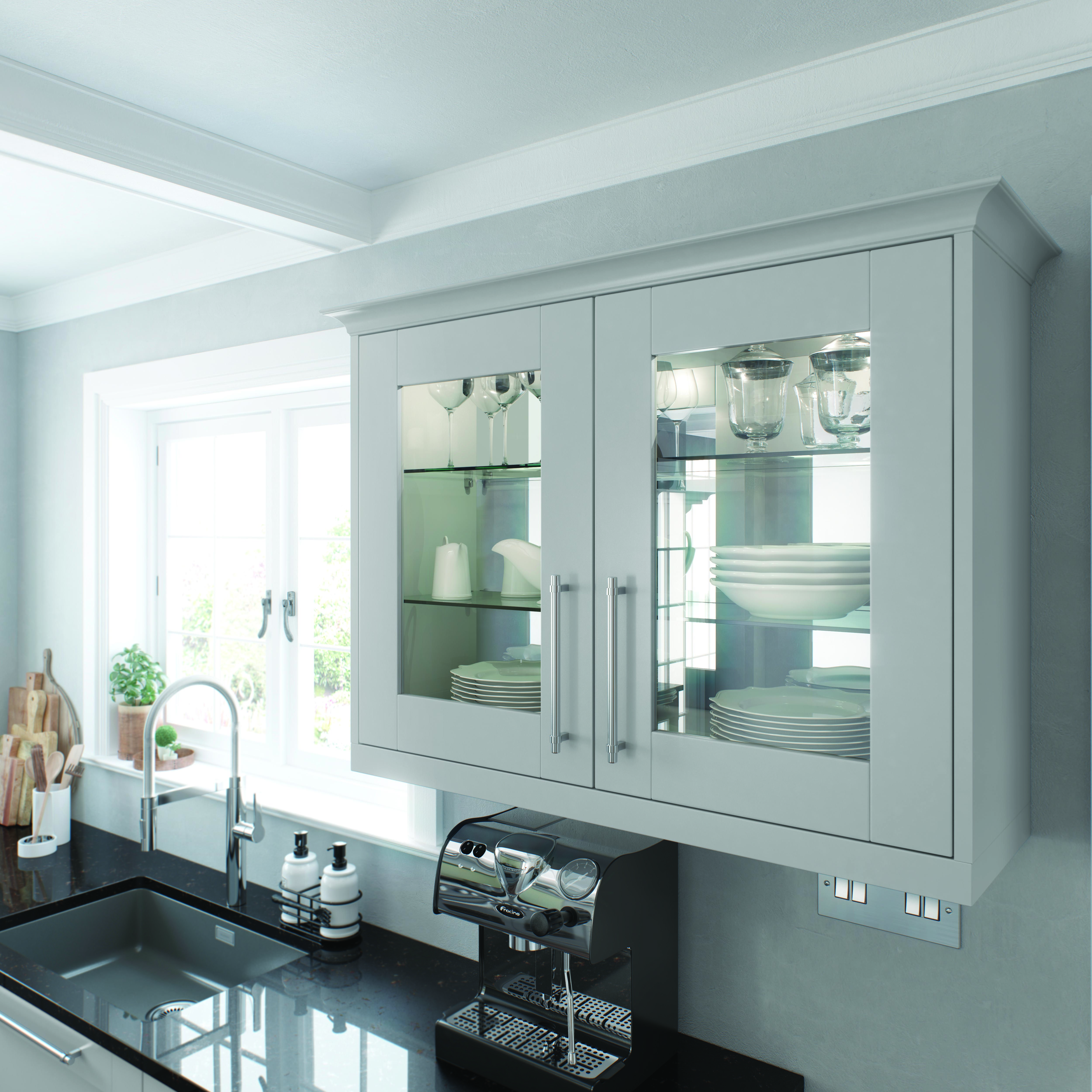 Mirrored Back Panel | Architectural | Pinterest | Kitchen showrooms ...