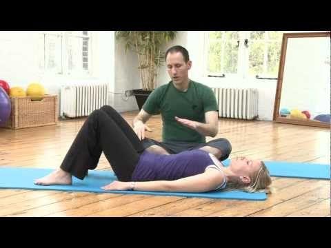▶ Pilates on Demand - Pelvic Clock Pilates Exercise - YouTube
