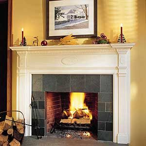 Easy Mantel Makeover | Nice, Mantles and Old houses