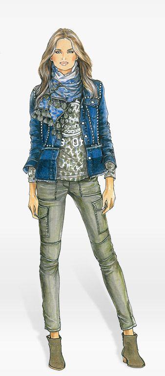 Marc aurel mode mantel